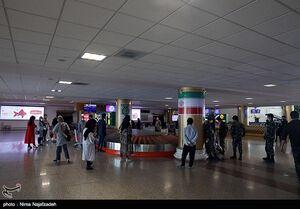ضدعفونی کردن فرودگاه بین المللی مشهد