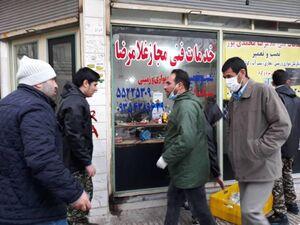 عکس/ توزیع ماسک در مناطق محروم شهر ری