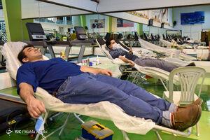 اهداء خون در باشگاه ورزشی