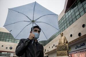 عکس/ روزهای پر باران تبریز