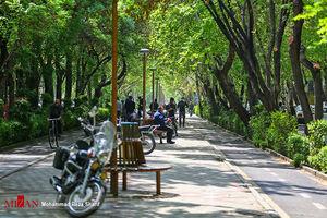 شلوغی شهر اصفهان در روزهایی کرونایی