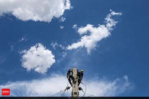 عکس/ آسمان آبی امروز تهران