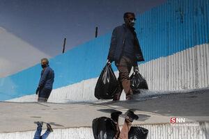 عکس/ بازار تهران ۵۰ روز بعد از شیوع کرونا