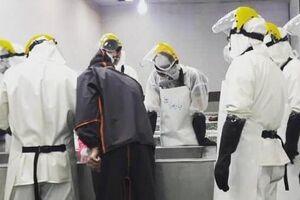 فیلم/ حالوهوای محل غسل جانباختگان کرونا در تهران