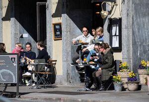 خیابانهای شلوغ سوئد