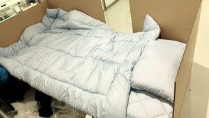 تخت بیمارستان مقوایی