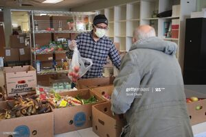 عکس/ کمک مسلمانان آمریکا به نیازمندان در فلوریدا