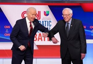 حمایت سندرز از نامزدی جو بایدن در انتخابات ریاست جمهوری