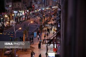 خیابان های شلوغ بازار اهواز