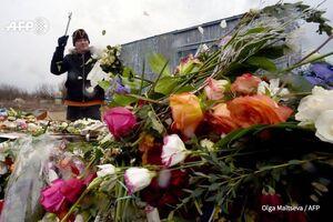 امحا و نابودی گلها در سن پترزبورگ روسیه به دلیل نبود تقاضا در دوران کرونا