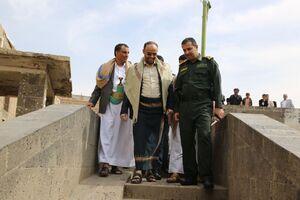 عکس/ بازدید از مناطق سیل زده یمن