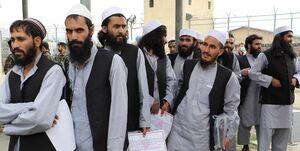 آزادی زندانیان طالبان متوقف شد