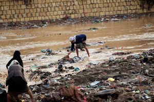 فیلم/ سیل مرگبار در مأرب یمن