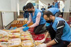 کمکهای غذایی شیعیان باکو برای نیازمندان
