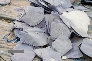 کارگاه تولید ماسک در لانه جاسوسی