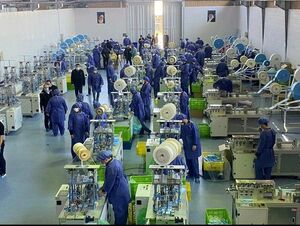 چین بیمارستان ساخت ما هم کارخانه ساختیم +عکس