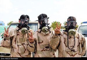 عکس/ رزمایش ضدعفونی معابر تهران باحضور محسن هاشمی