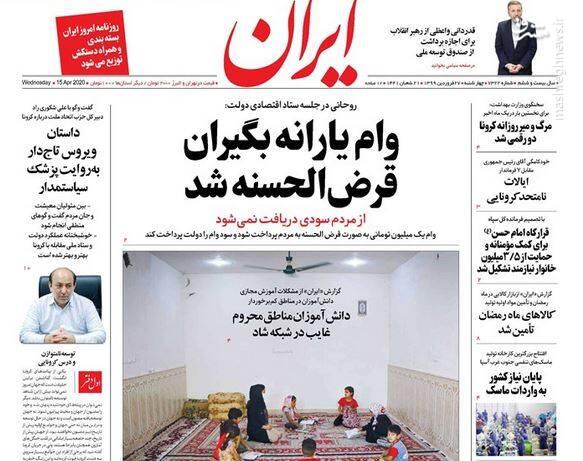 ایران: وام یارانه بگیران قرض الحسنه شد