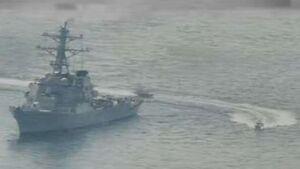 مانور شناورهای ایرانی پاسخی به اقدامات آمریکا بود