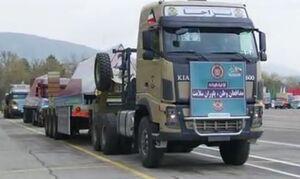 فیلم/ رژه ضدکرونایی دلاوران ارتش