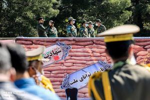 """عکس/ """"رژه خدمت"""" در مشهد"""