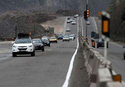 ترافیک نیمه سنگین در محور کرج_تهران