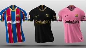 رونمایی از پیراهن چهارم بارسلونا +عکس