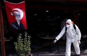 شمار قابل توجه مبتلایان به کرونا در ترکیه، ایتالیا و فرانسه