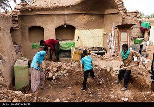 خسارات سیل در روستایهای کرمان