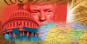 کرونا «فدرالیسم» آمریکا را به چالش کشیده است