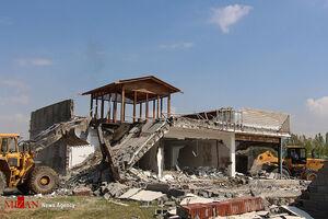 رفع تصرف از اراضی زراعی ساوجبلاغ