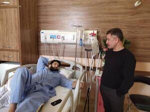 عکس/ عیادت سرمربی تیم ملی از علیرضا کریمی