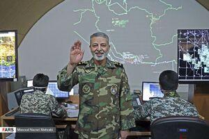 عکس/ رونمایی از سامانه راداری جدید ارتش
