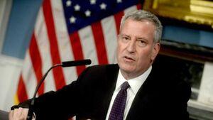فیلم/ شهردار نیویورک: داریم ورشکست میشویم!