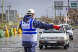اتمام طرح فاصلهگذاری اجتماعی کرونا در پلیس راه پایتخت