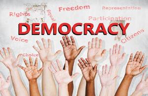 چه زیباکلامها که برای یادگیری دموکراسی به این بلاد رفتن