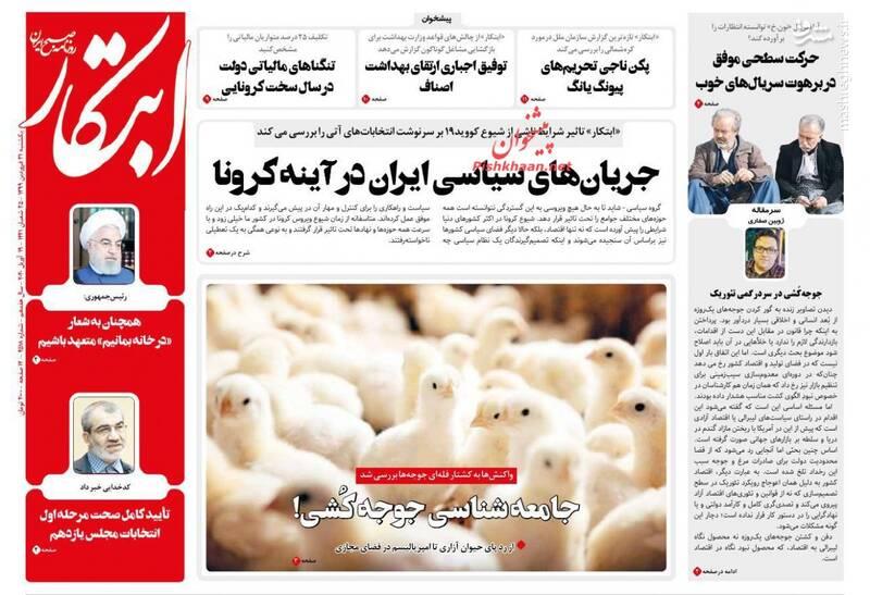 ابتکار: جریانهای سیاسی ایران در آینه کرونا