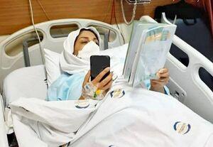 عکس/ تدریس آنلاین در بیمارستان بقیهالله