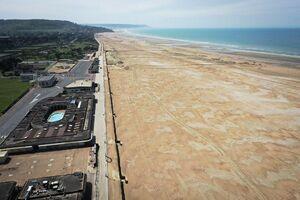 عکس/ وضعیت شهر ساحلی فرانسه در روزهای کرونایی