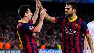 فابرگاس: مسی هیچ وقت بارسلونا را ترک نمیکند