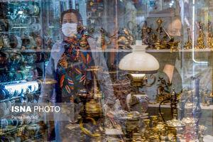 عکس/ بازگشایی بازار و مجتمعهای تجاری اراک