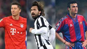 بهترین بازیکنان مجانی تاریخ فوتبال +عکس