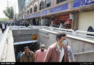 عکس/ بازگشایی بازار تهران پس از ۳۵ روز