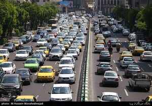 عکس/ تهران در قرق خودروها