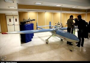 تجهیز پهپادهای ایرانی به موشکهای تاپ اتک+عکس