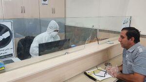 کارمند بانک در شوش (خوزستان) و کرونا