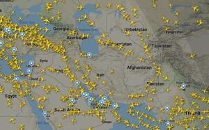 فیلم/ ترافیک هوایی جهان قبل و بعد کرونا
