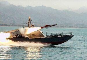 موشک ایران در فاصله ۱۶۰ کیلومتری ناو «نیمیتز» آمریکا فرود آمد