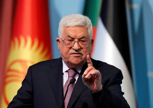 رئیس تشکیلات خودگردان فلسطین محمود عباس نمایه