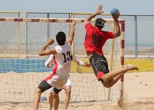 حضور تیم ملی هندبال ساحلی در بازیهای آسیا